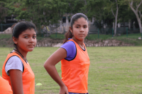 Girls United two girls
