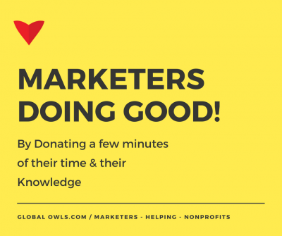 Marketers Doing Good!