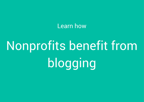 learn blogging for nonprofits