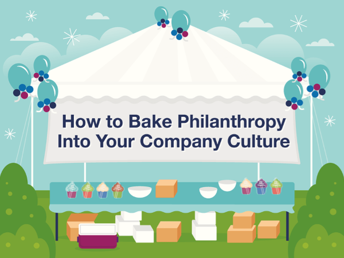 How to bake Philanthropy into your company culture