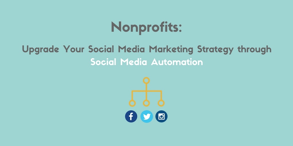 nonprofits social media automation