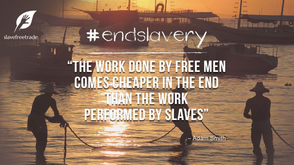 slavefreetrade your choice makes a difference