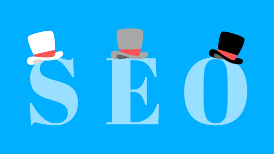 white hat, grey hat, black hat seo