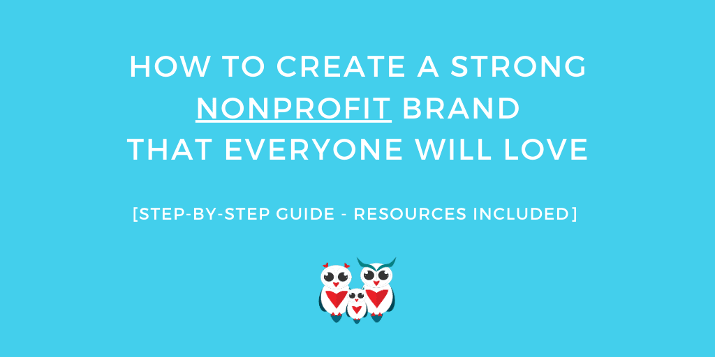 how to build strong nonprofit brand