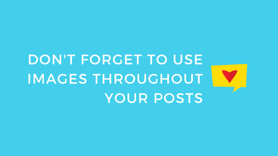 use images on you blog