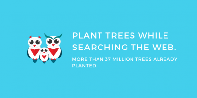 Ecosia - Plant trees while searching the web