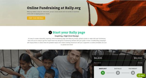 Rally.org online fundraising platform