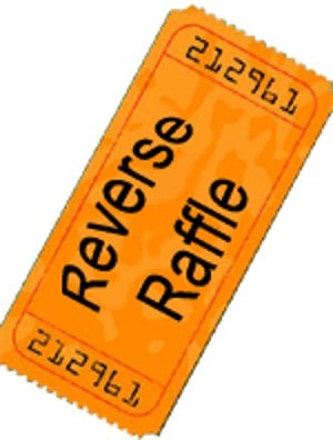 Run a Reverse Raffle - fundraising idea