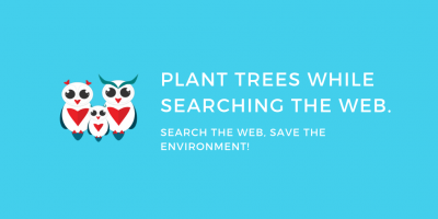 plant trees with ecosia