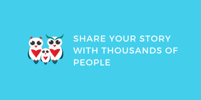 Share your story with thousands of people