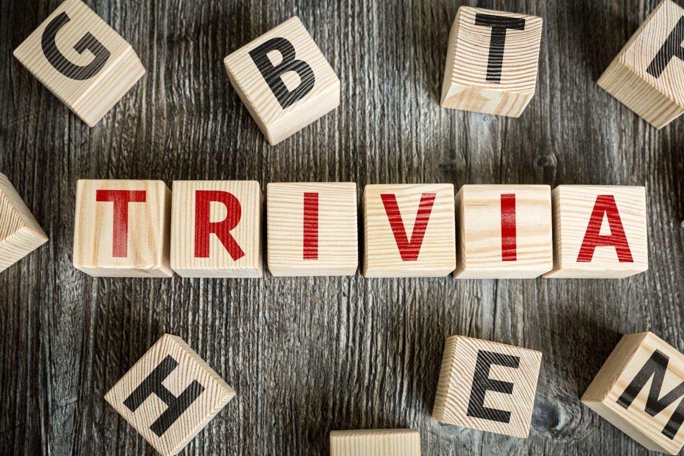 trivia - fundraising idea