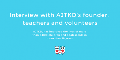 Interview with AJTKD's founder, teachers and volunteers