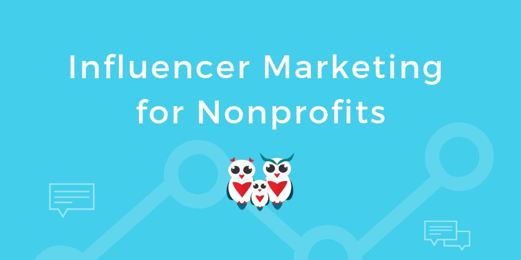 influencer marketing for nonprofits