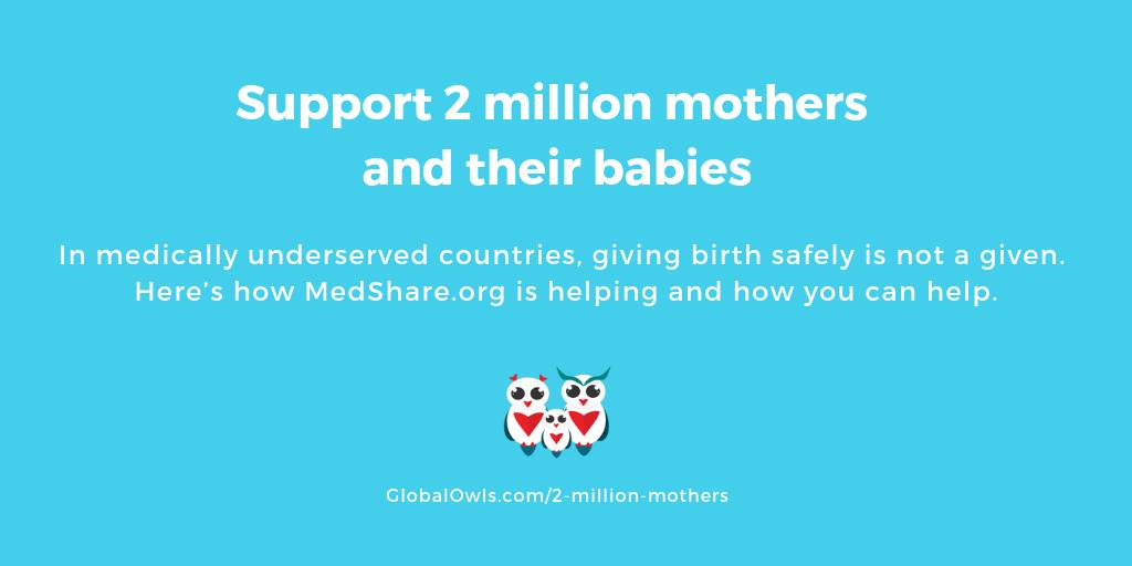 help 2 million mothers
