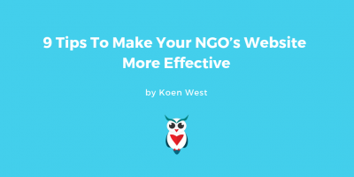 how to make your ngo website more effective 9 ways