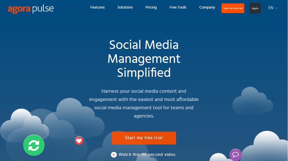 social media tool agora pulse