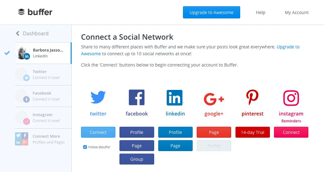 social media tool buffer