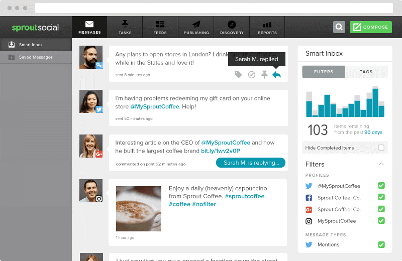 social media tool sprout social