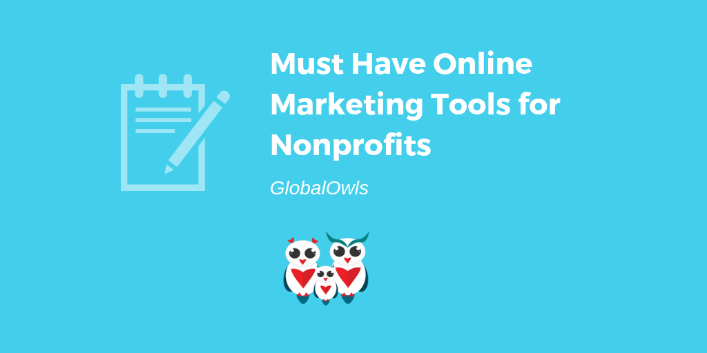 Must Have Online Marketing Tools for Nonprofits