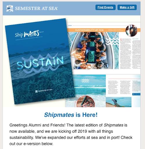 Semester at Sea email