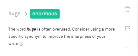 find overused words in grammarly
