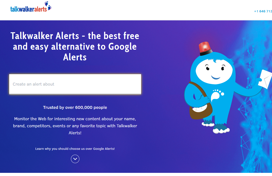 Talkwalker Alerts - social mention tool