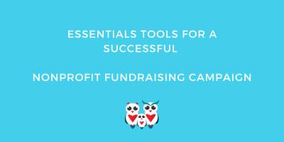 tools successful nonprofit fundraising campaign