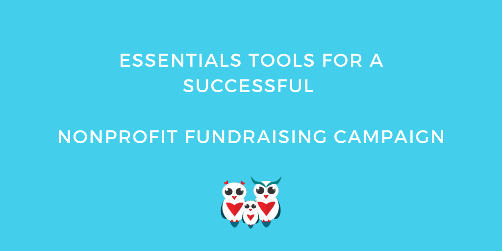 tools successful nonprofit fundraising campaign