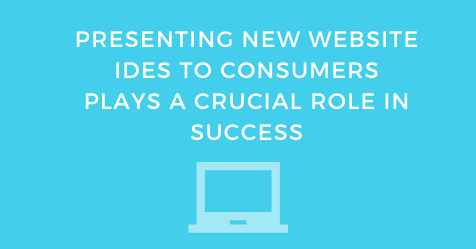 Presenting New Website Ideas To Consumers Plays A Crucial Role In Success