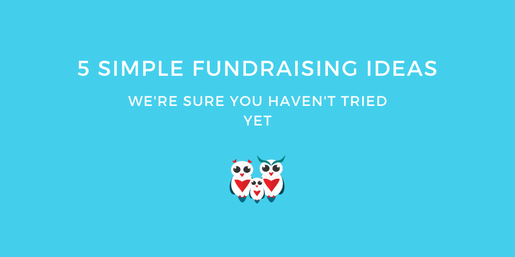 5 Simple Fundraising Ideas