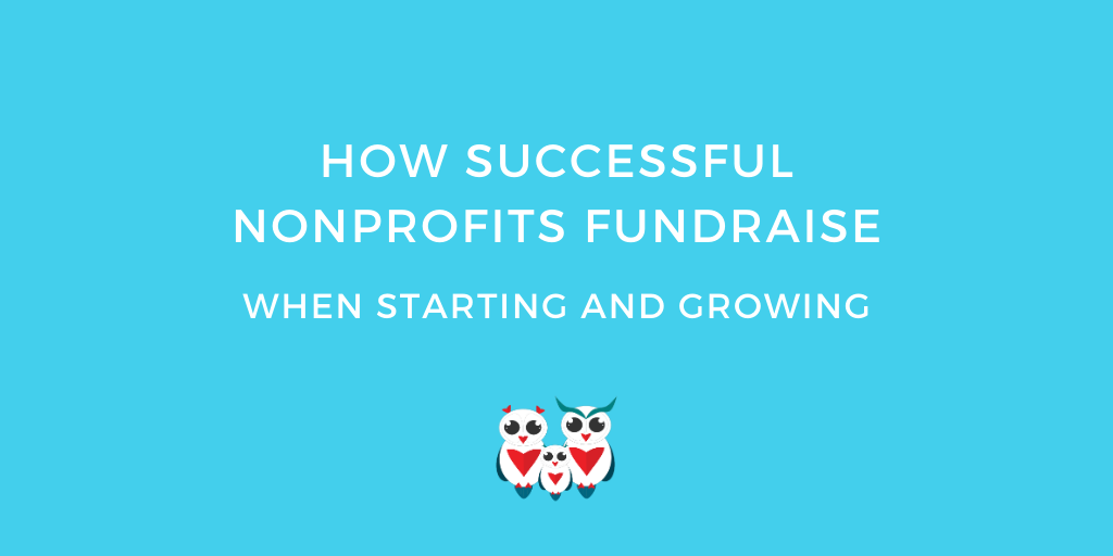 How Successful Nonprofits Fundraise when Starting and Growing