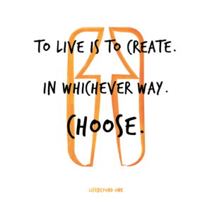 to live is to create